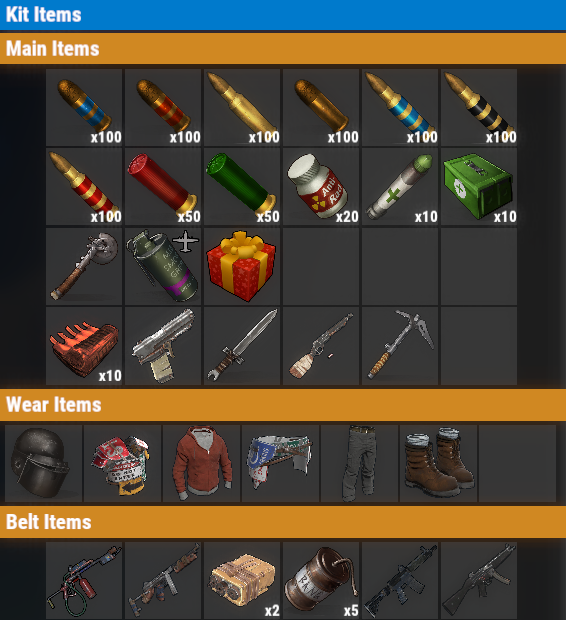 Rust PvE VIP+ Daily Kit