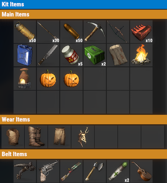 Rust PvE Free VIP Daily Kit
