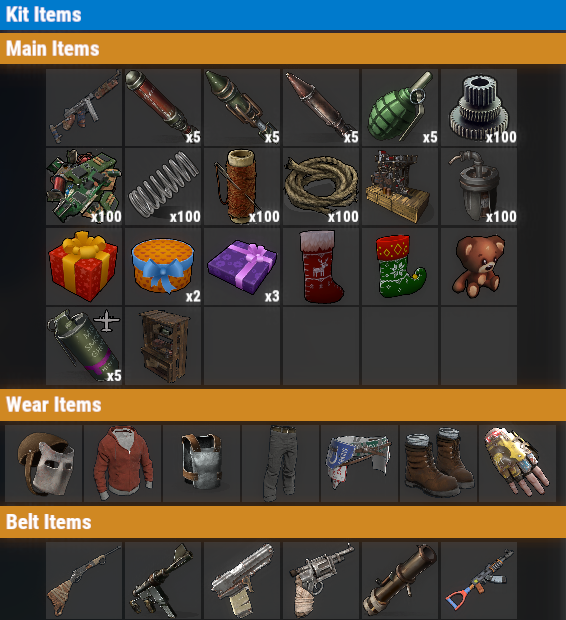 Rust PvE VIP+ Once Kit