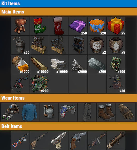 Rust PvE VIP++ Once Kit