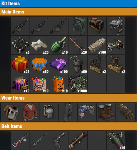 Rust PvE VIP+++ Once Kit