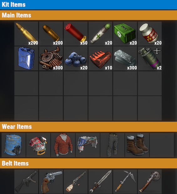Rust PvP VIP++ Daily Kit