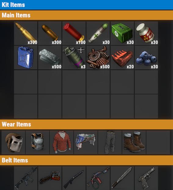 Rust PvP VIP+++ Daily Kit