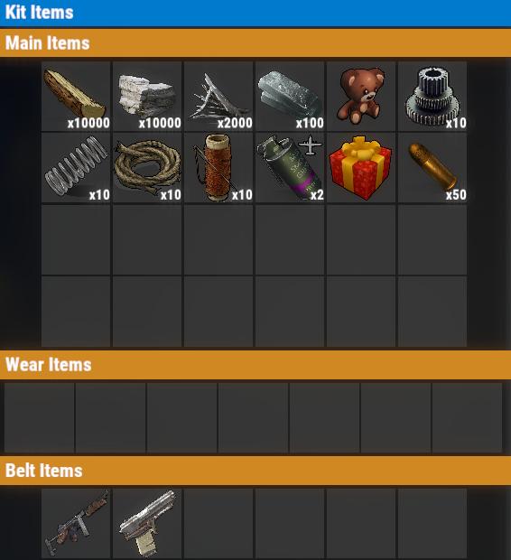 Rust PvP Free VIP Once Kit