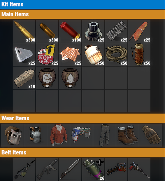 Rust PvP VIP+++ Weekly Kit